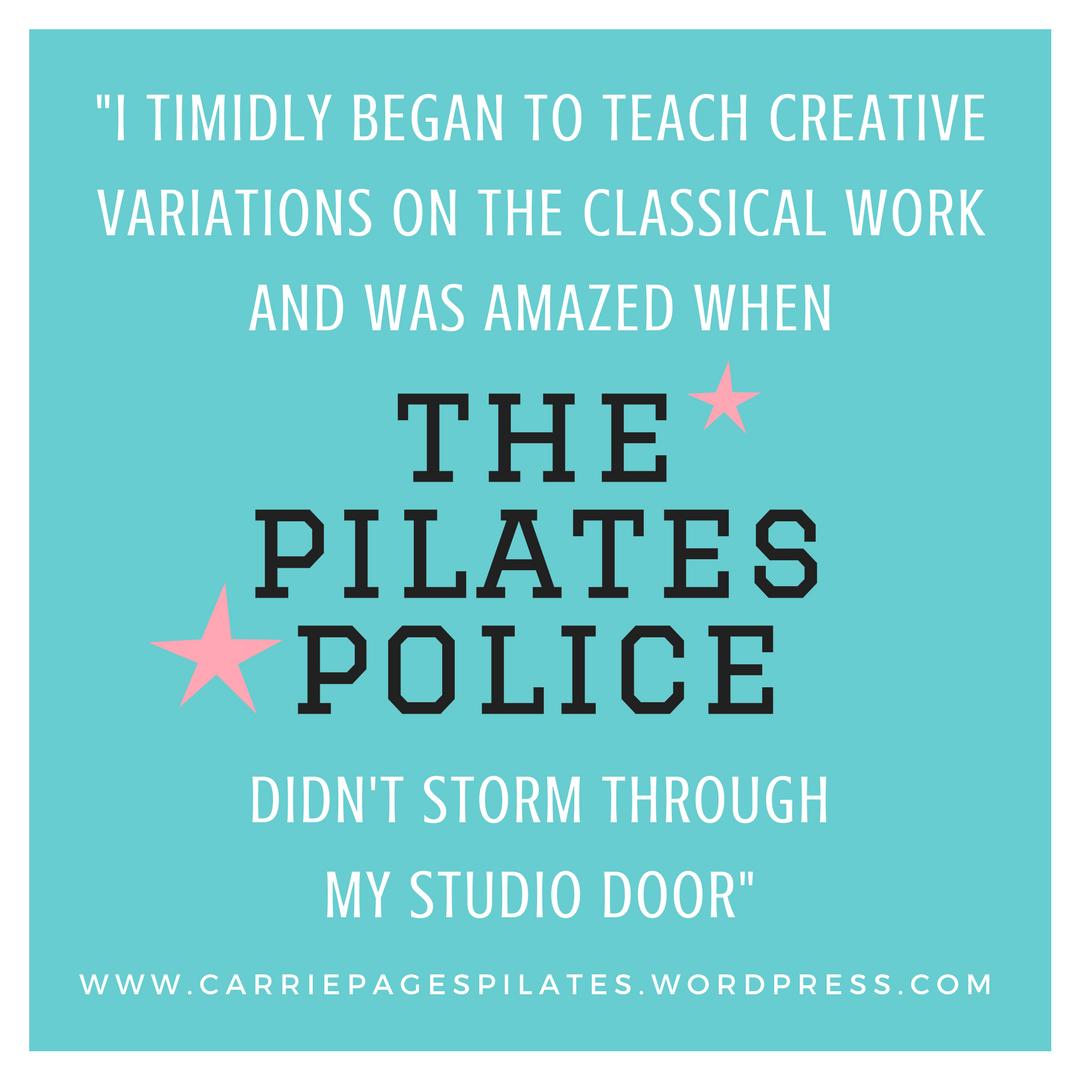 Pilates Police
