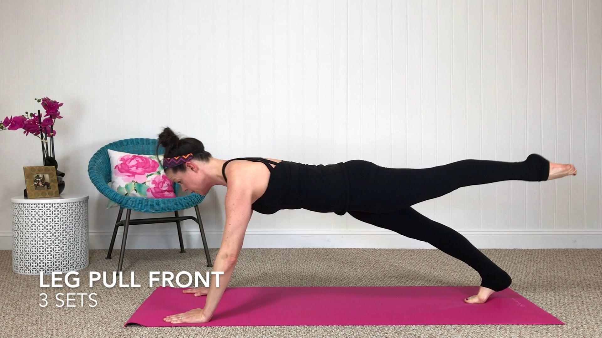 Leg Pull Front