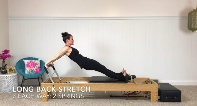 Long Back Stretch graphic