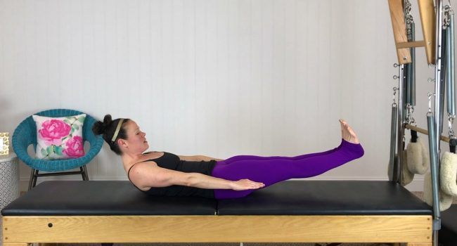 Mat Class (13 mins): Abs, Side Kicks and an awesome hip opener graphic