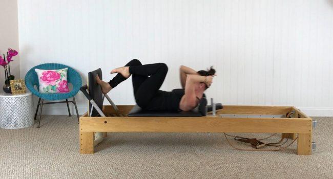 Reformer (10 mins): Jumpboard Cardio graphic