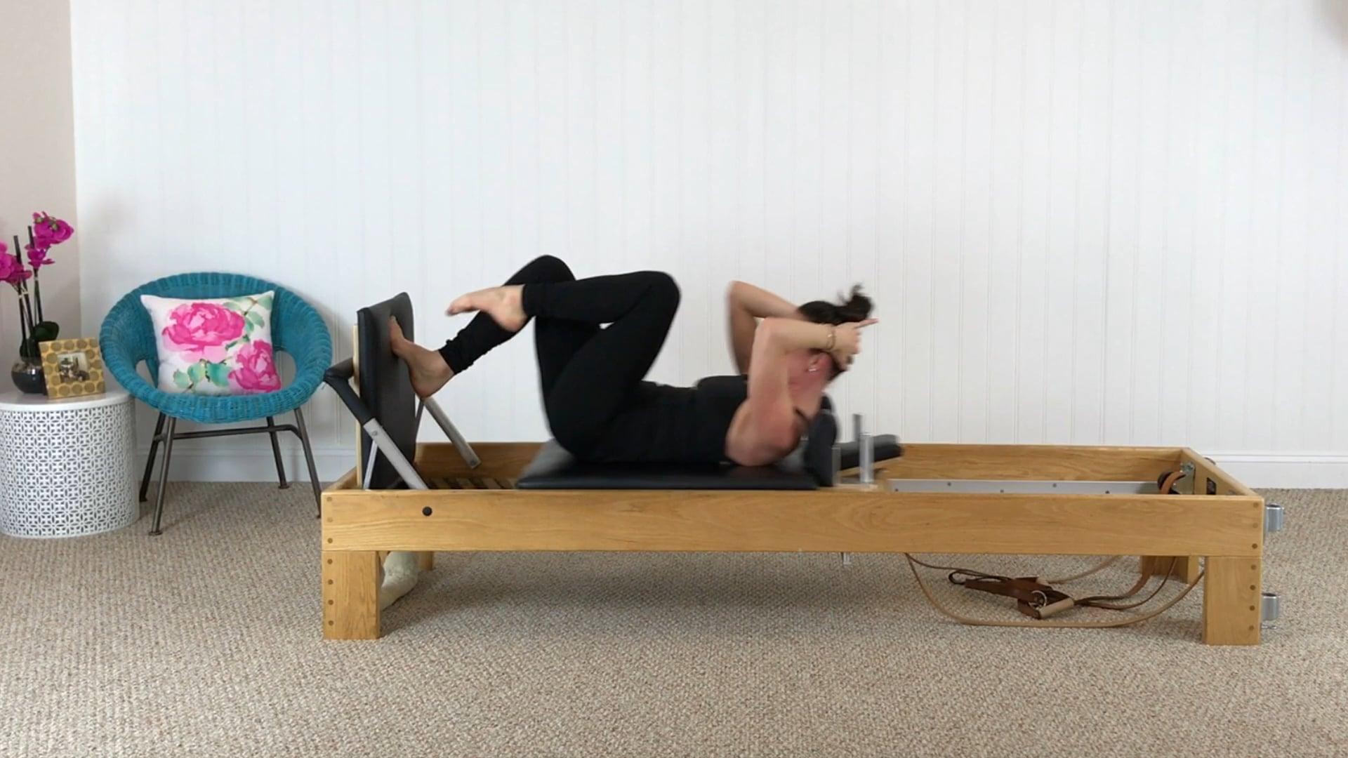 Reformer (10 mins): Jumpboard Cardio