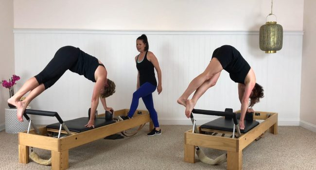 Reformer (56 mins): Advanced Reformer including Snake and Semi Circle graphic