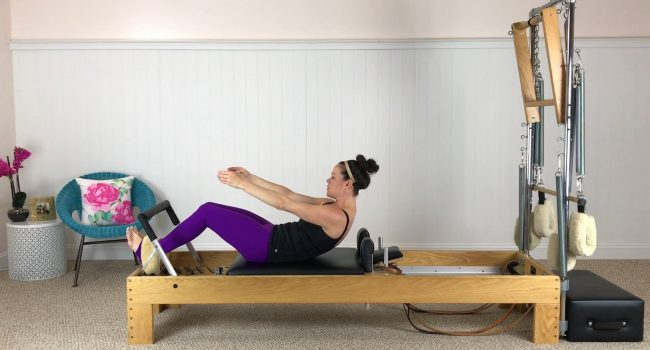 Reformer (19 mins): A great ab prep gets you ready for this efficient class. graphic