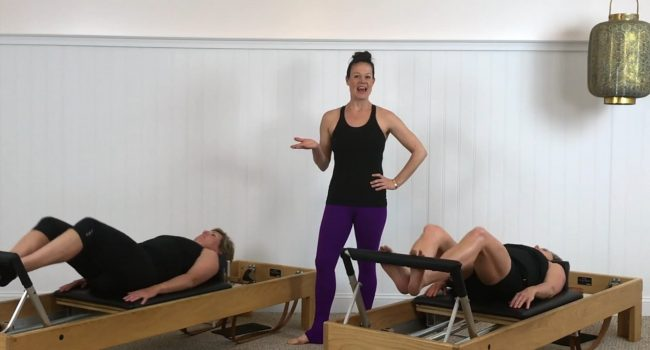 Reformer (68 mins) Introduction to the Level IV-V exercises. graphic