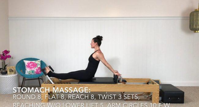 Stomach Massage graphic