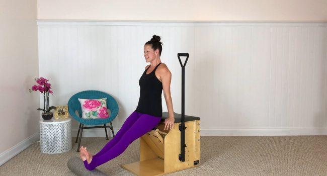 Chair Workout and Foam Roller (24 mins) graphic