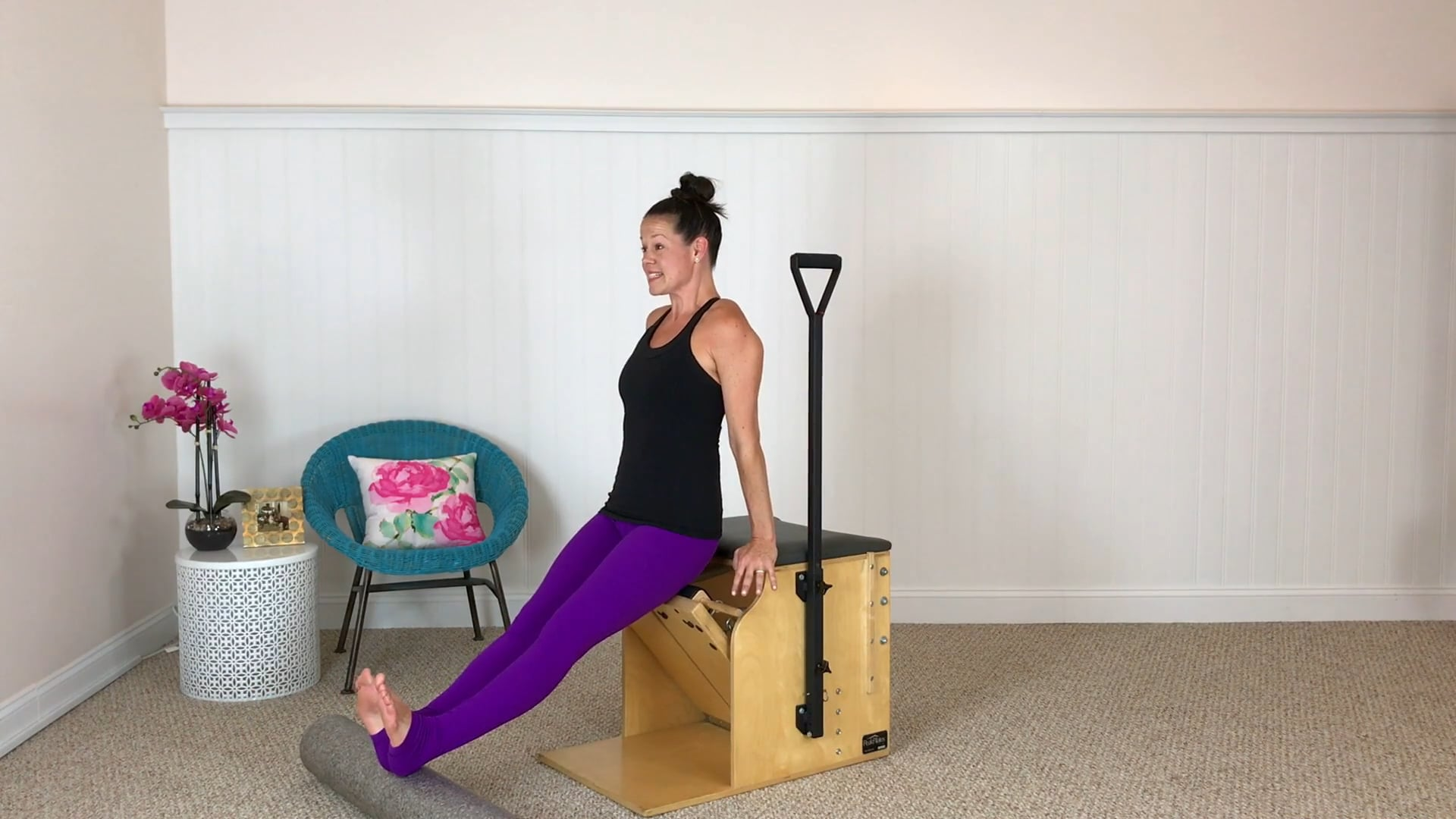 Chair Workout and Foam Roller (24 mins)