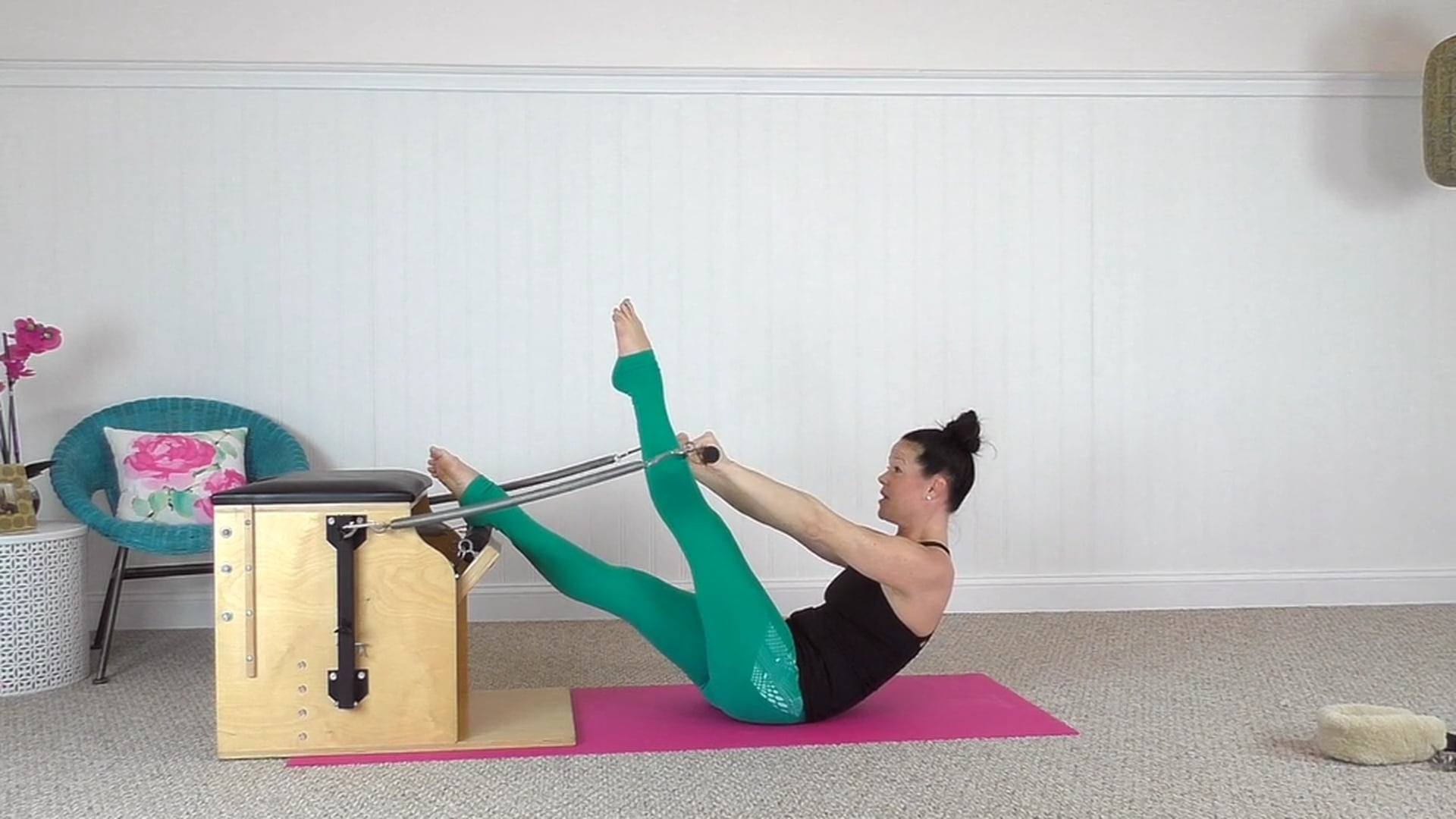 Chair Workout Using the Roll Down Bar and Leg Springs (26 mins)