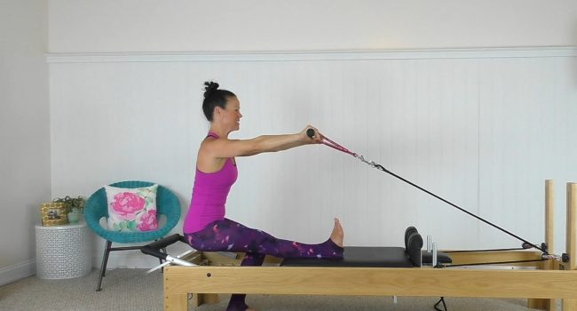 Reformer Class Using The Bar (46 mins) graphic
