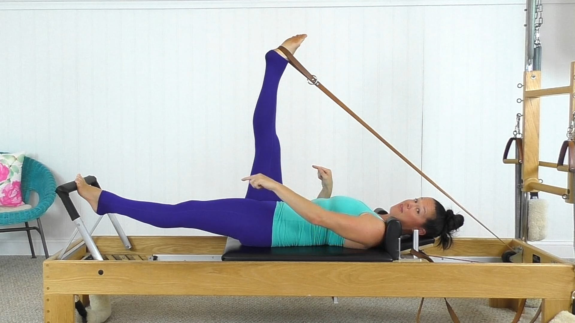 Stretching With The Feet In The Straps (13 min)