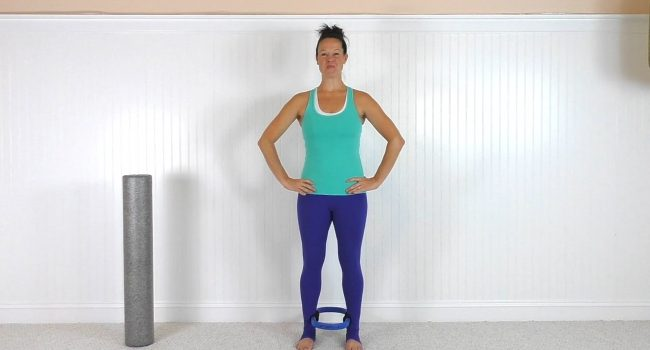 Standing Workout With The Magic Circle and Foam Roller (23 mins) graphic