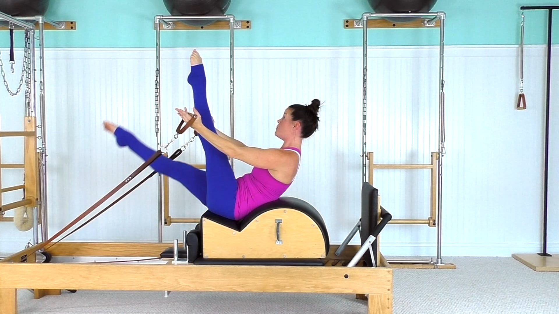 Spine Corrector/Reformer Workout (25 mins)