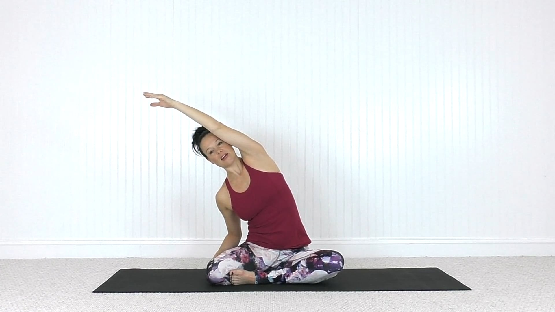 Mat Class Flow: Neck Mobility and Back Strengthening (42 mins)