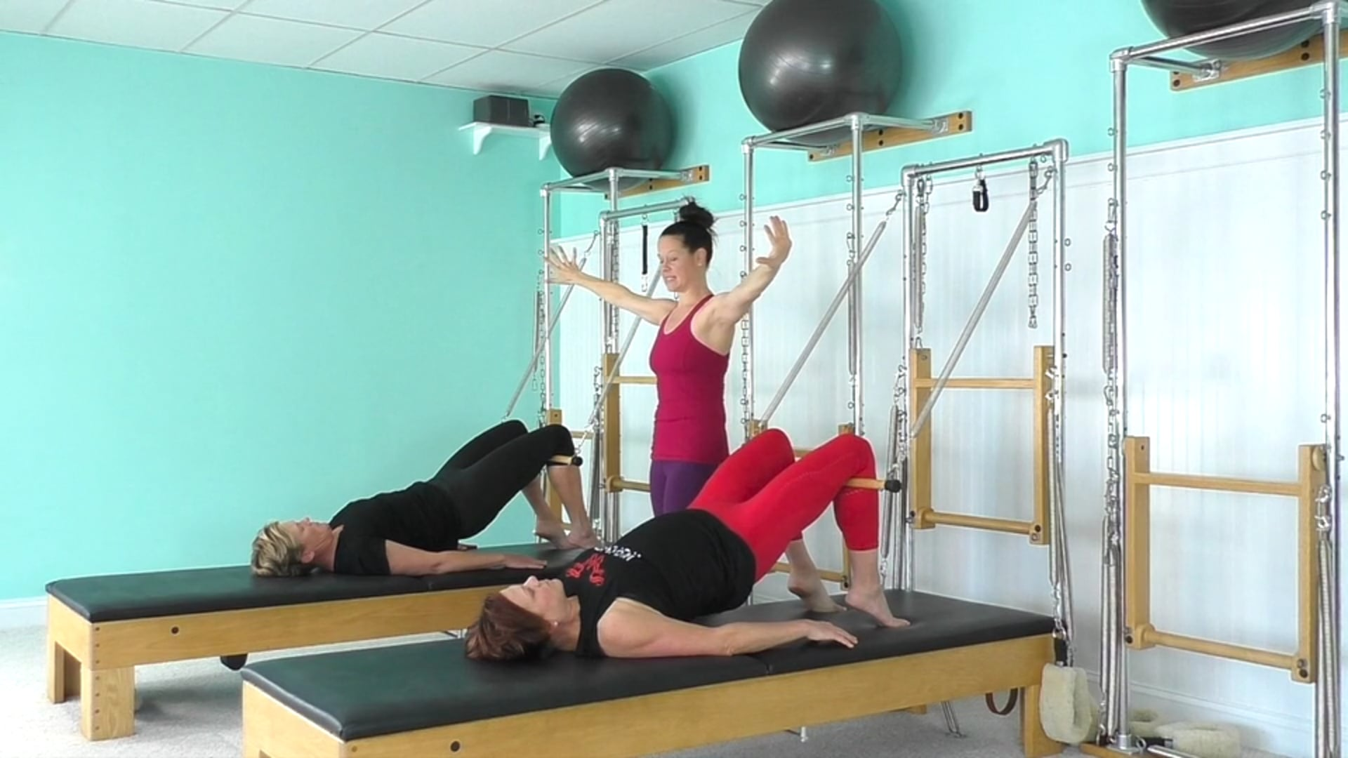 Tower Class With A Focus On Cueing Your Clients (52 mins)