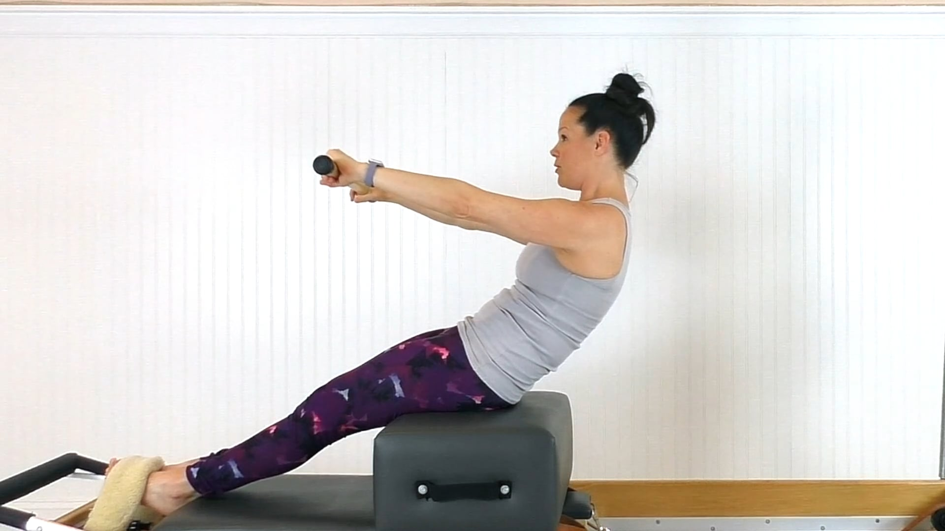 Reformer/Tower Focused on Articulation of the Spine (36 mins)