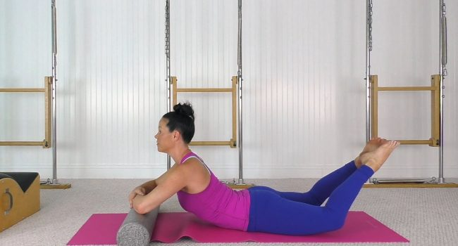 Restorative Mat and Spine Corrector Workout (32 mins) graphic