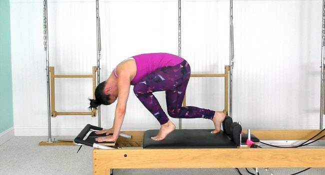 Reformer Fun Using 1 Spring (33 mins) graphic