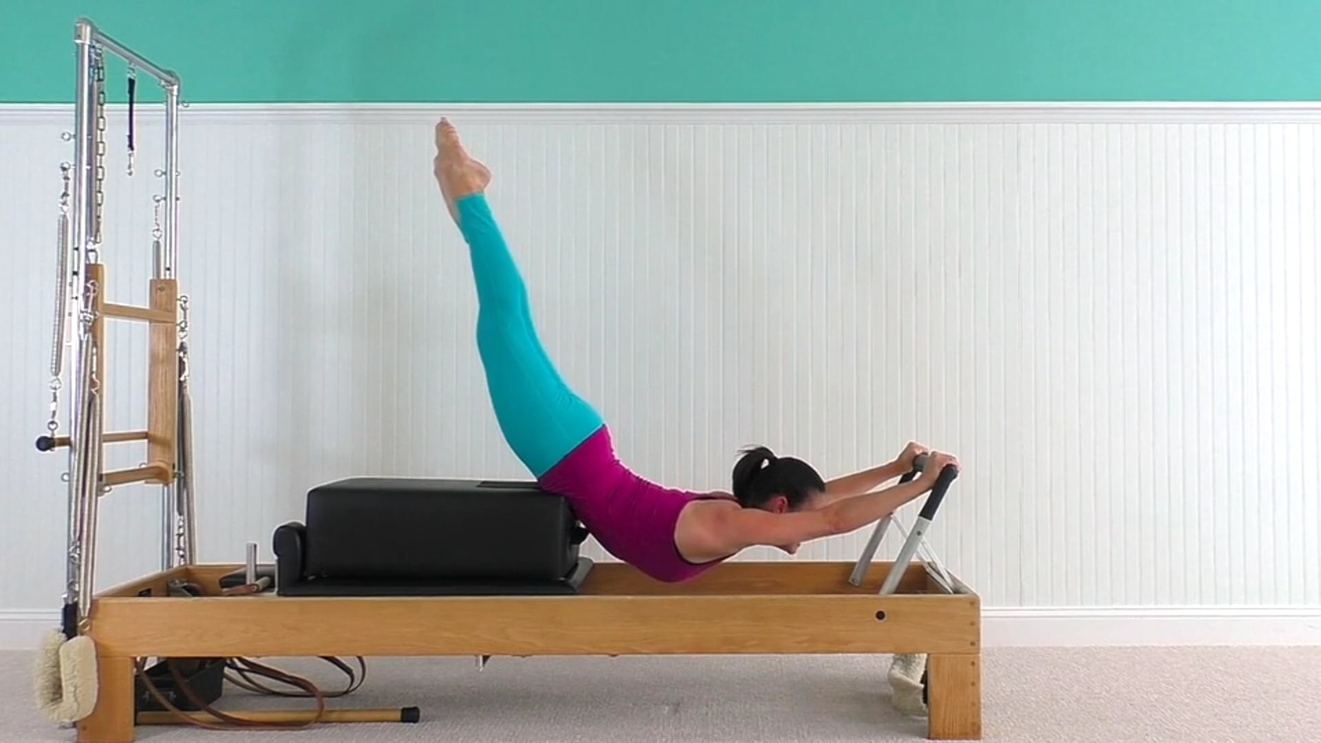 Reformer Workout Inspired by the Matwork